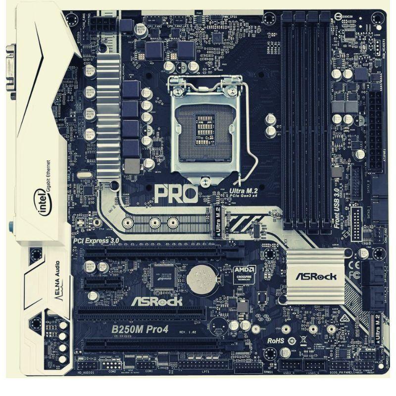 011 ASRock B250M Pro 4