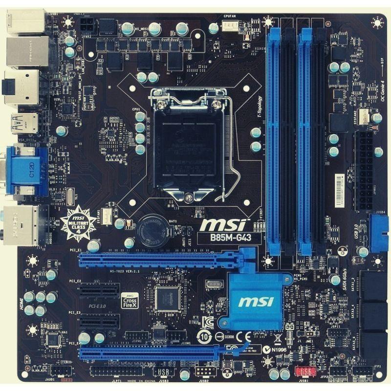 07 MSI B85M G43