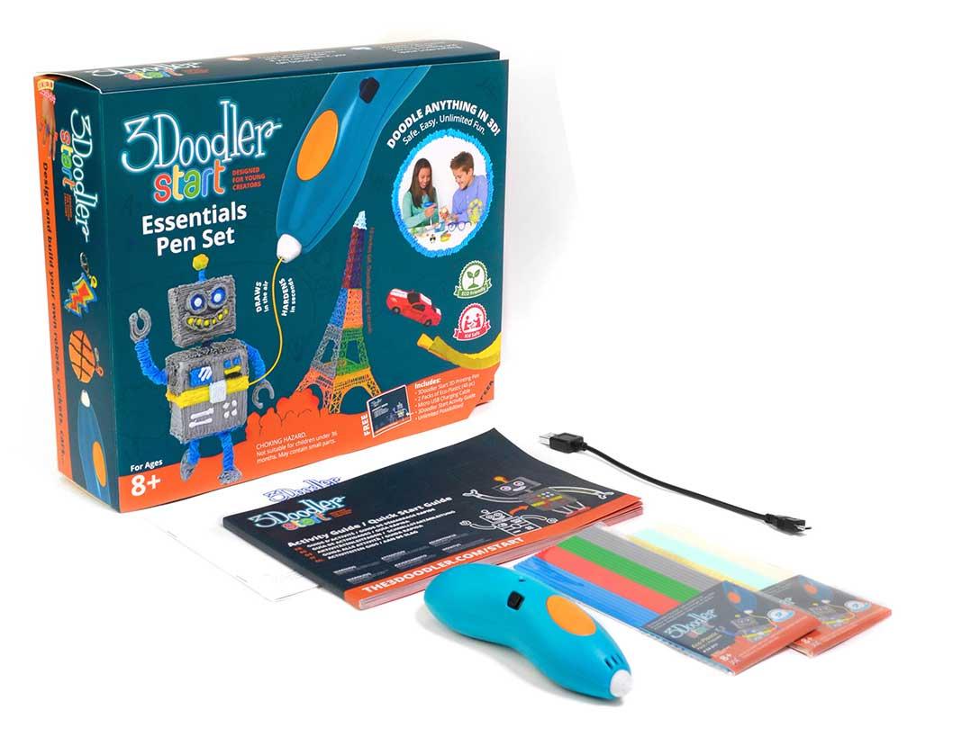 3doodler Essentials 3d Printing Pen Set