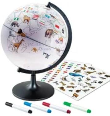 7 Edu Toys Interaktivnyj Globus G2828