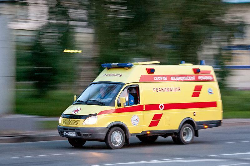 800px Ambulance In Tomsk