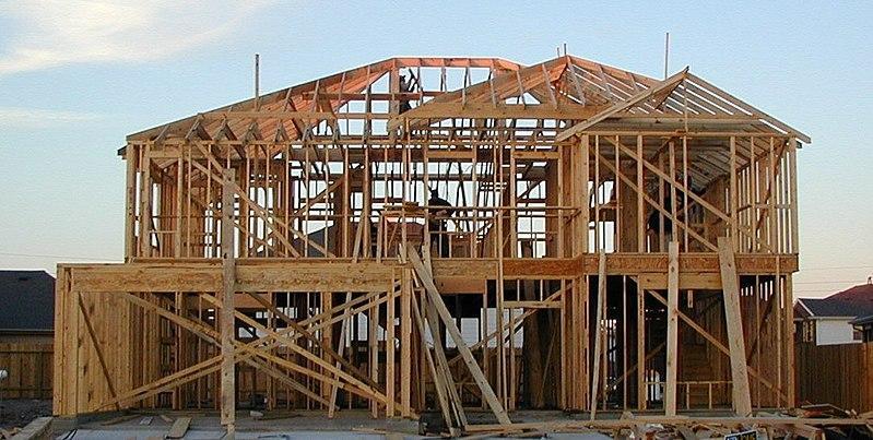 800px Wood Framed House