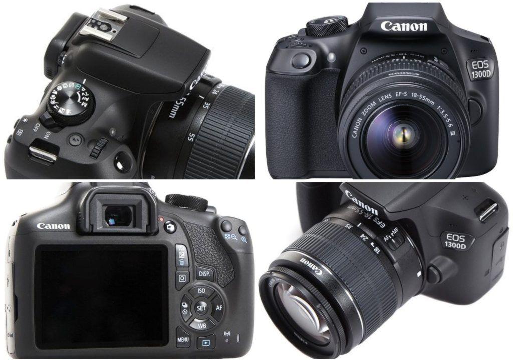 Canon EOS 1300D Kit 1024x724