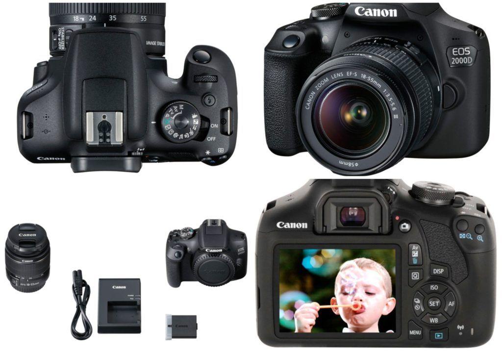 Canon EOS 2000D 1024x724