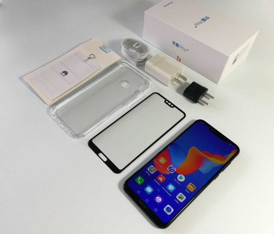 Huawei Honor Play 4GB 64GB 6 3 Inch Kirin 970 Octa Core Android 8 1 Cellphone