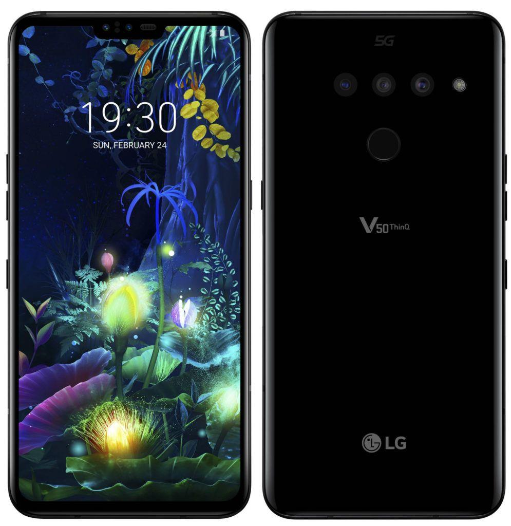 LG V50 ThinQ Front 995x1024