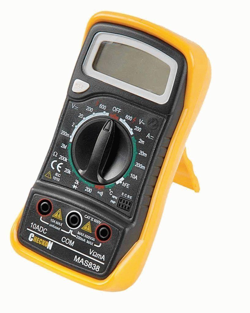 Multimetr Mastech MAS 838 818x1024
