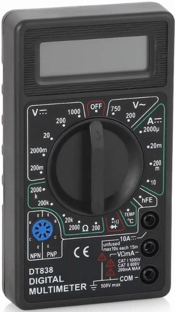 Multimetr RESANTA DT 838 573x1024