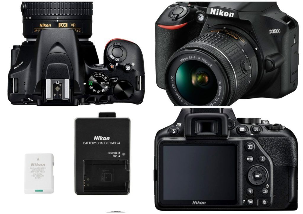 Nikon D 3500 1024x724