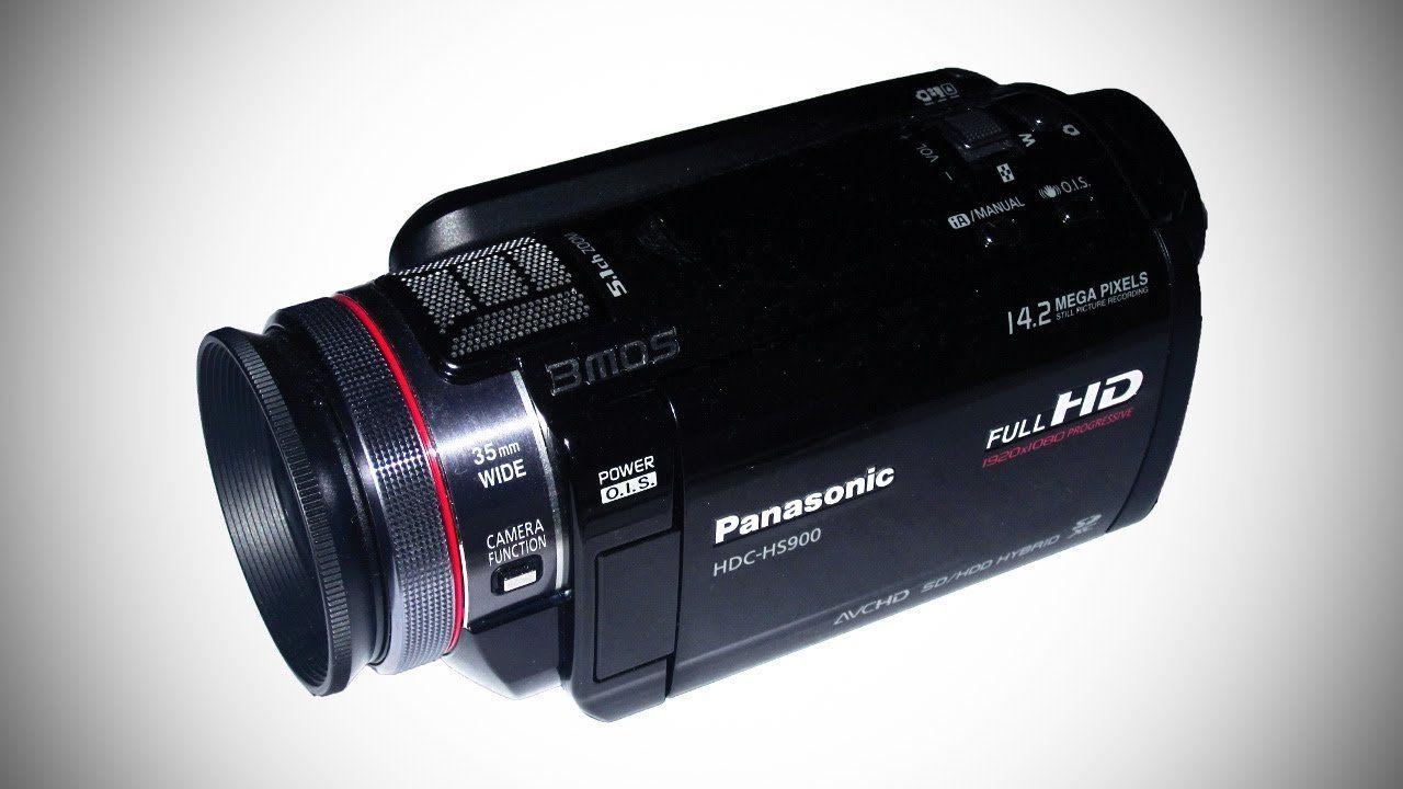 Panasonic HDC HS900