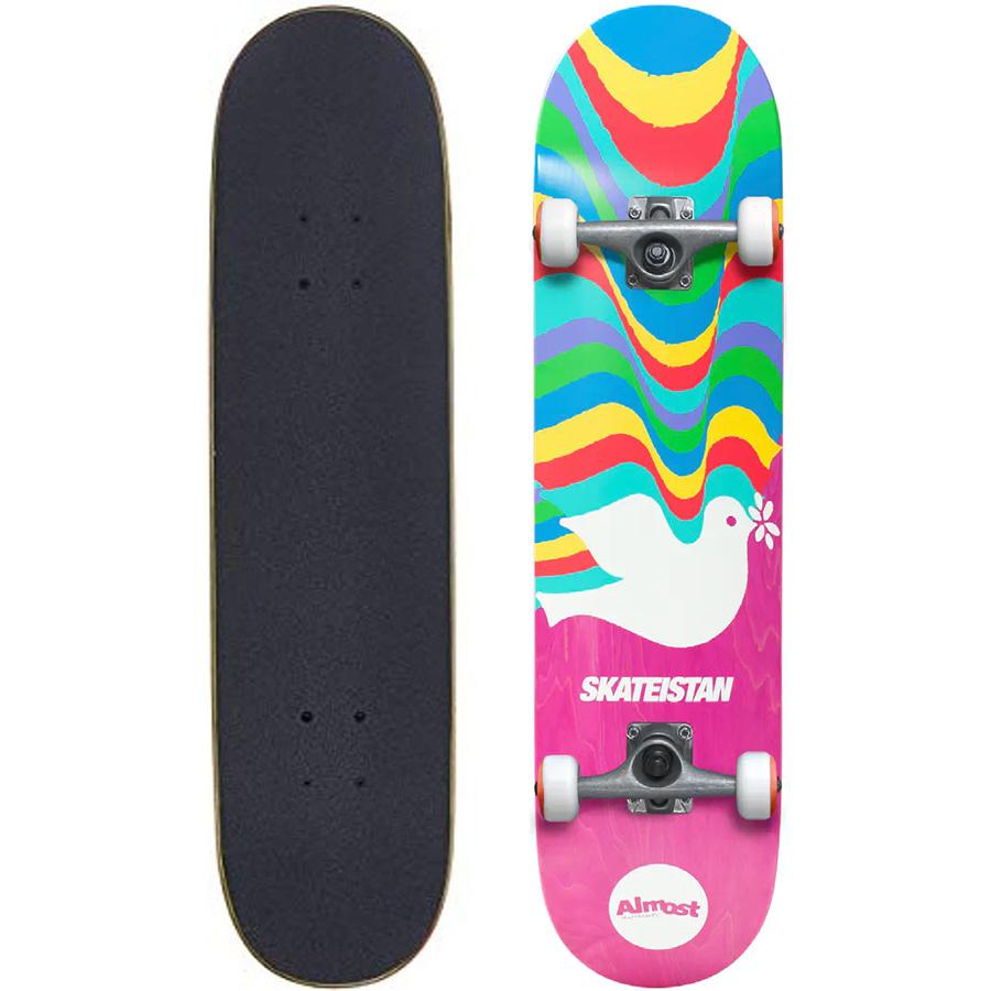 Almost Skateistan Pink 7.5