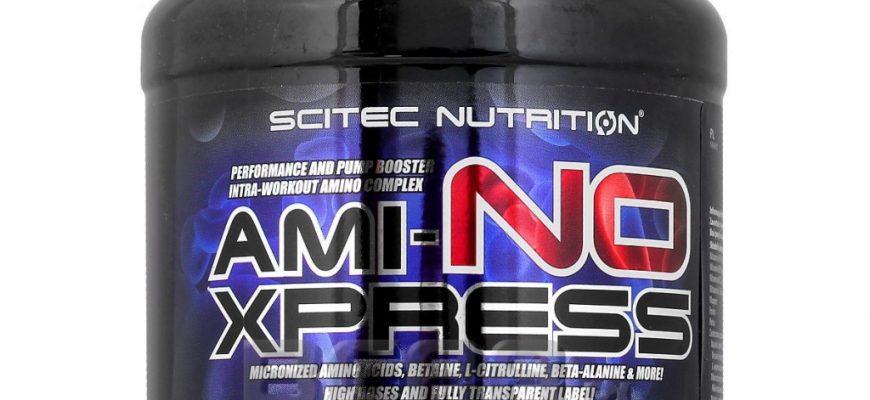 ami no xpress scitec nutrition 870x400 - Рейтинг Рейтинг-7 лучших аминокислот: BCAA, для набора массы и роста мышц