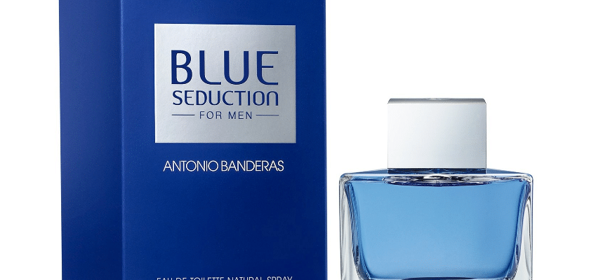 antonio banderas blue seduction for men 849x400 - Рейтинг Рейтинг 10 лучших мужских парфюмов: аромат, какой купить, сравнение с аналогами