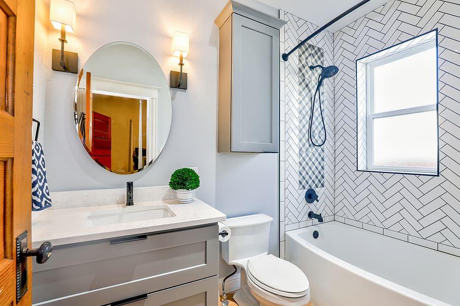 Architecture Bathroom Bathtub Bowl