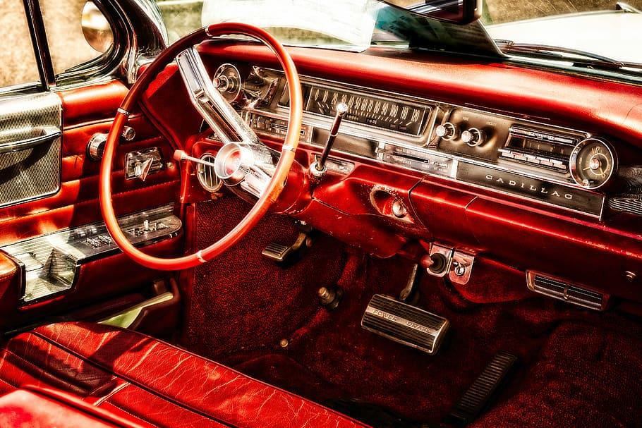 Auto Oldtimer Cadillac Vehicle