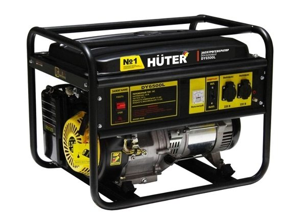 Benzinovyj Generator Huter Dy6500l 5000 Vt E1586806278838