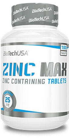 Biotech Usa Zinc Max 100 Tabl E1578306143114