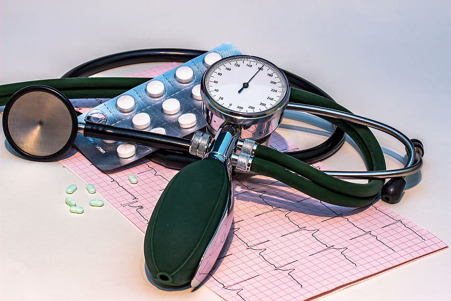 Blood Pressure Monitor High Blood Pressure Stethoscope Ecg