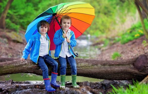 Boys Umbrella Jeans Children