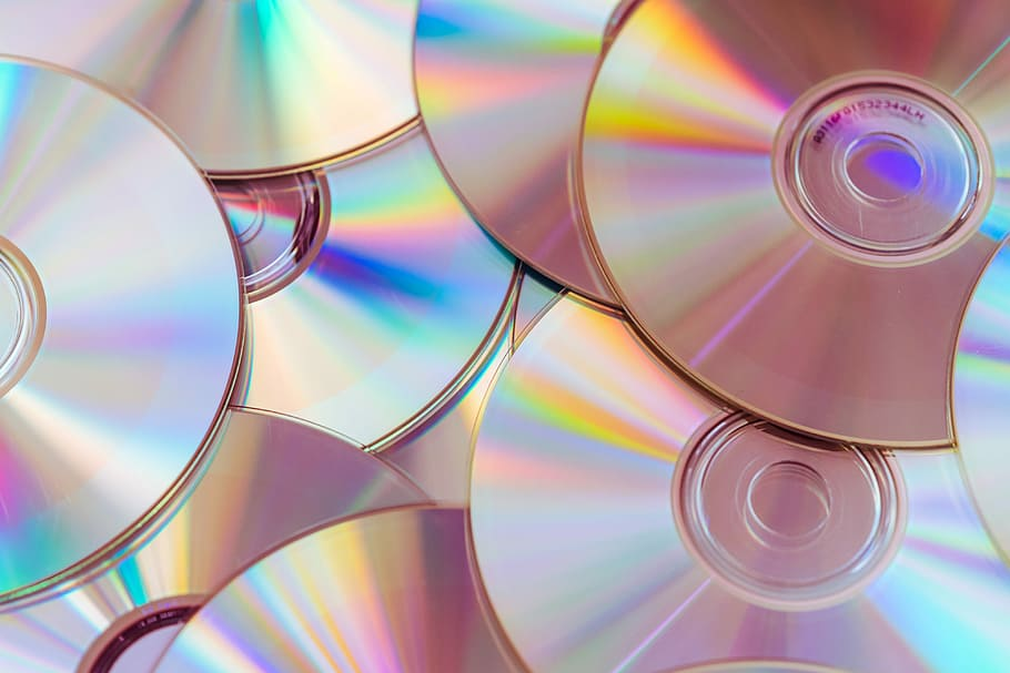 Cd Colorful Compact Discs Copying