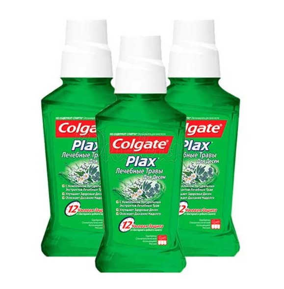 Colgate Plax Lechebnye Travy Dlya Desen