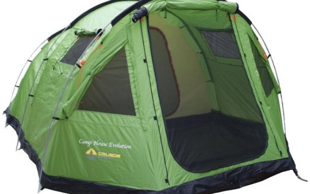 crusoe camp camp house evolution 639x400 - Топ рейтинг 10 лучших кемпинговых палаток: количество мест, какую выбрать, сравнение с аналогами