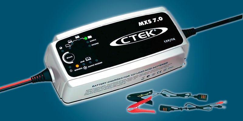 ctek mxs 7.0 - Рейтинг зарядных устройств для автомобильных аккумуляторов