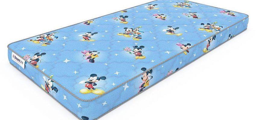 dreamline baby dream 6 870x400 - Рейтинг-10 лучших детских матрасов: характеристики, какой купить, отзывы