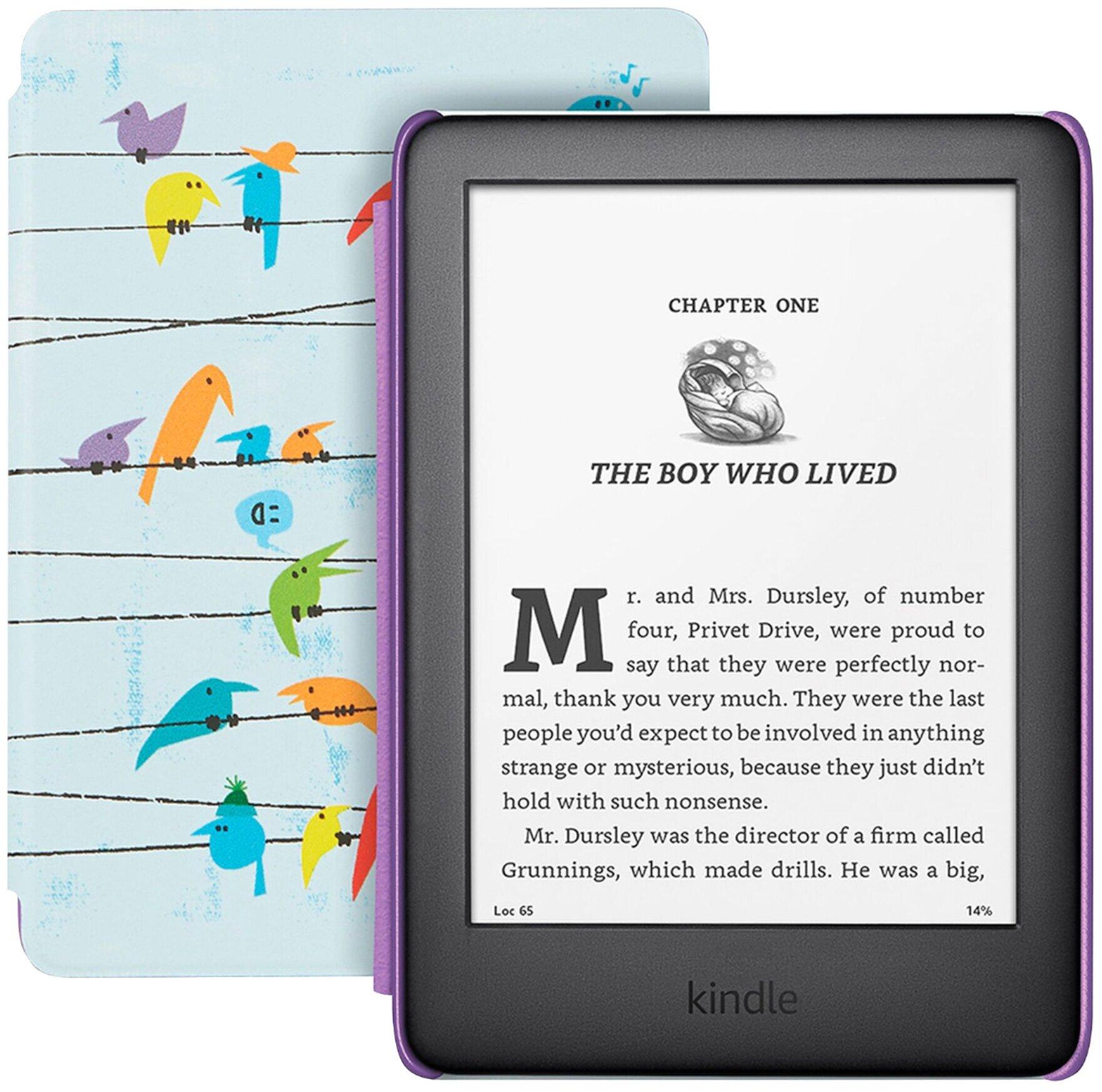 Elektronnaya Kniga Amazon Kindle 2019 Kids Edition 8 Gb