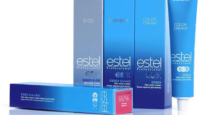 estel professional princess essex 734x400 - Рейтинг 10 лучших красок для волос без аммиака: состав, какую выбрать, сравнение с аналогами