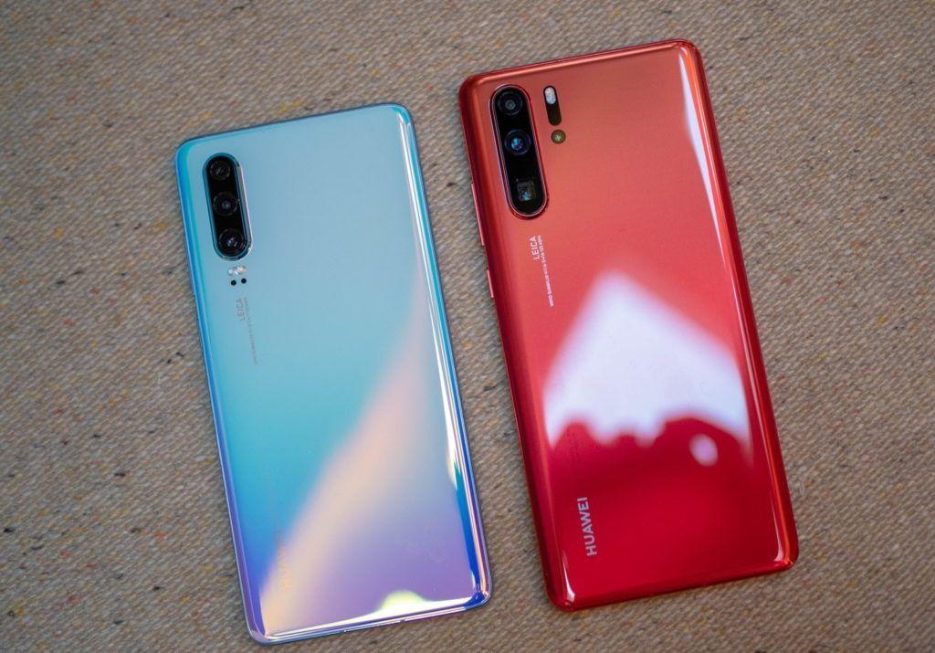 Huawei P30 Pro Red Vs P30 White 5 1024x715