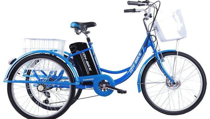 izh bajk farmer 250w 701x400 - Рейтинг 10 лучших трехколесных велосипедов для взрослых: основные характеристики, советы по выбору, отзывы