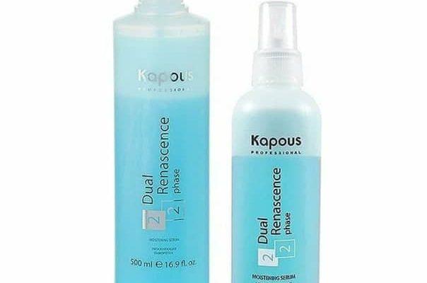 kapous professional dual renascence 2 phase 604x400 - 6 лучших сывороток для волос: состав, эффект, какую выбрать