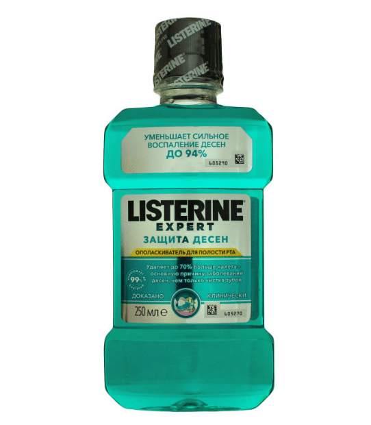 Listerine Expert Zashhita Desen