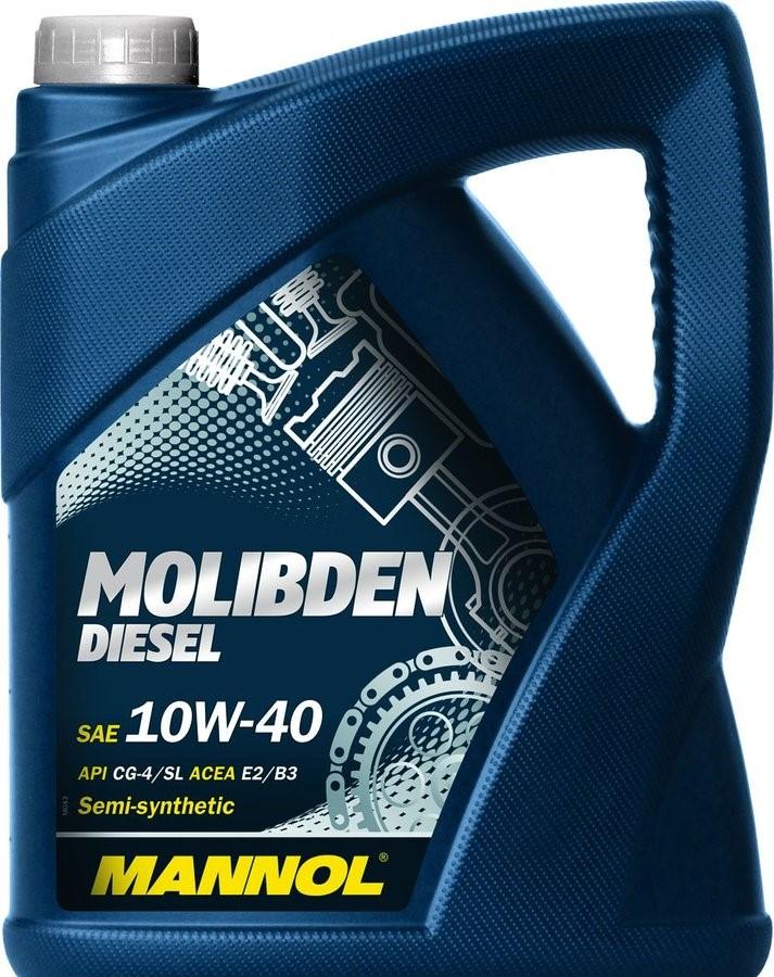 Mannol Molibden Benzin 10w 40 4 L