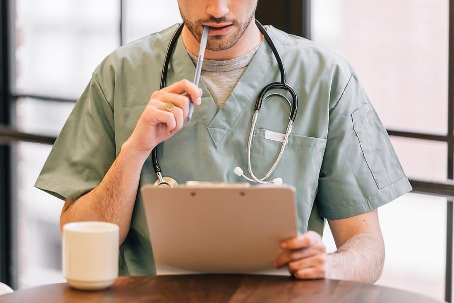 Men Medical Health Doctor