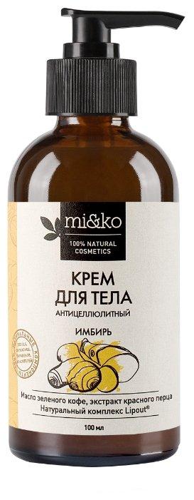 Miko Krem Dlya Tela Imbir Anticzellyulitnyj 100 Ml