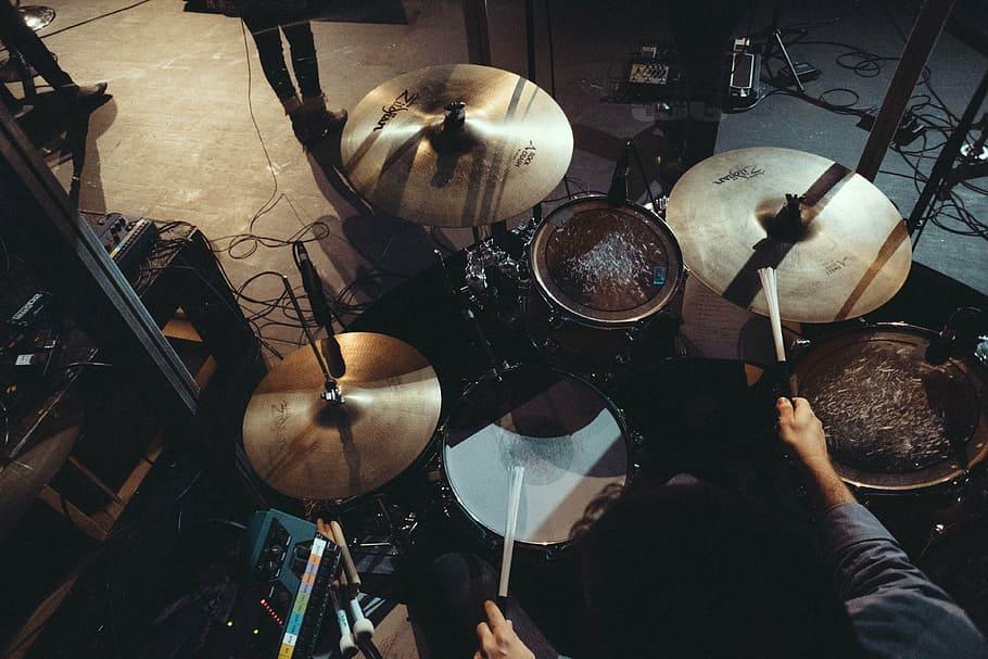 Music Instrument Drums Drummer