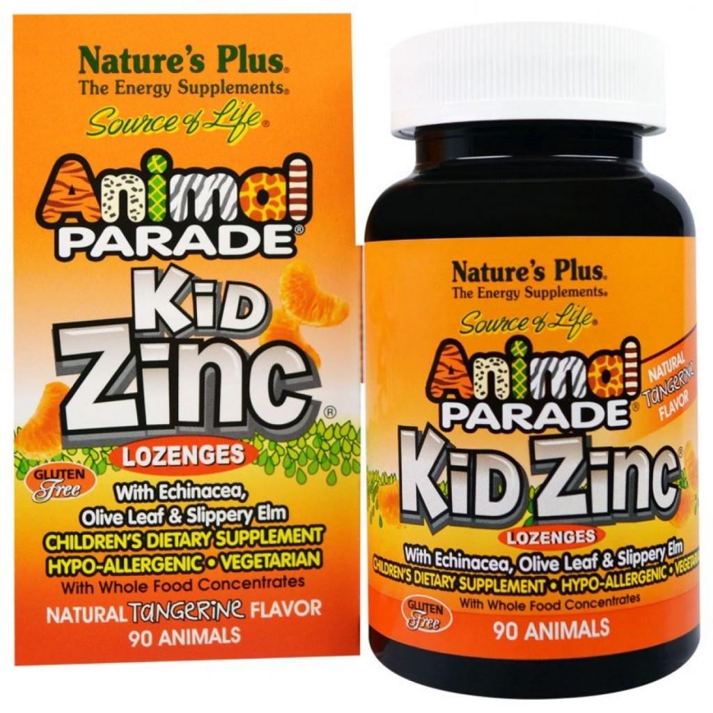 Natures Plus Animal Parade Kid Zinc