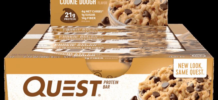 questbar 870x400 - Топ рейтинг-10 лучших протеиновых батончиков и печенья: обзор белковых и белково-углеводных