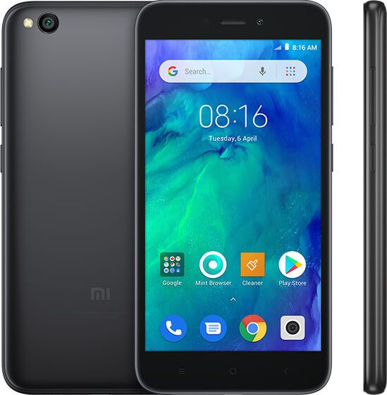 Smartfon Xiaomi Redmi Go 16gb 1gb Black Chernyy