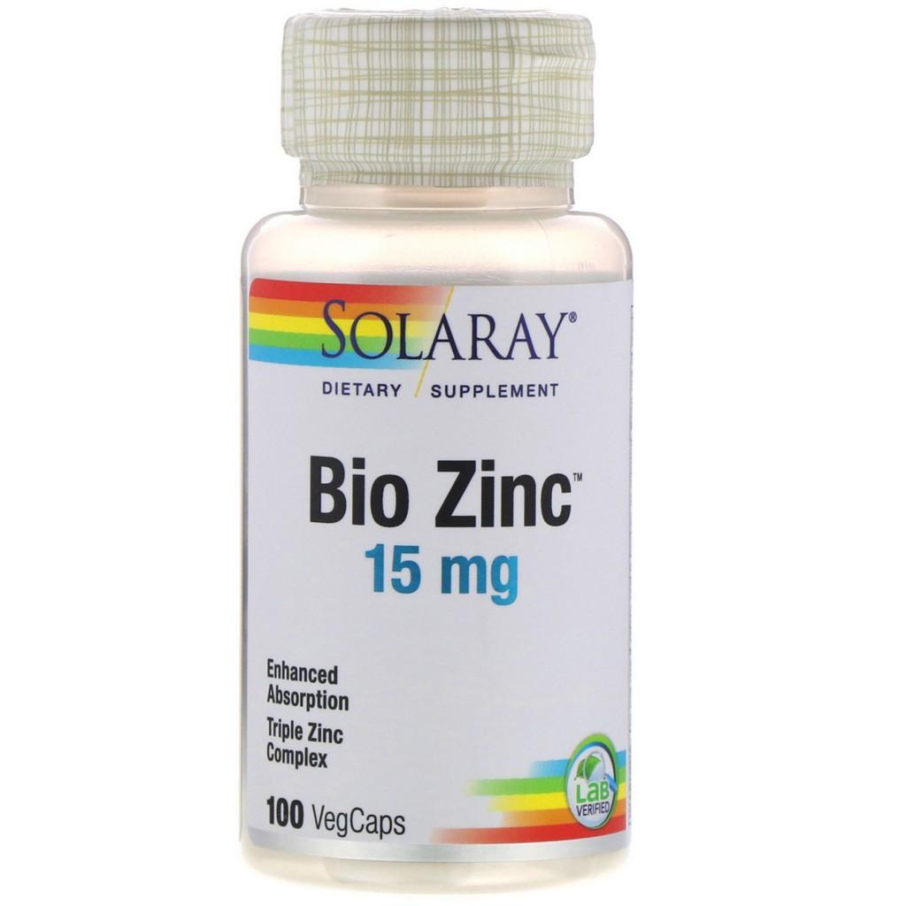 Solaray – Czink Bio Zinc