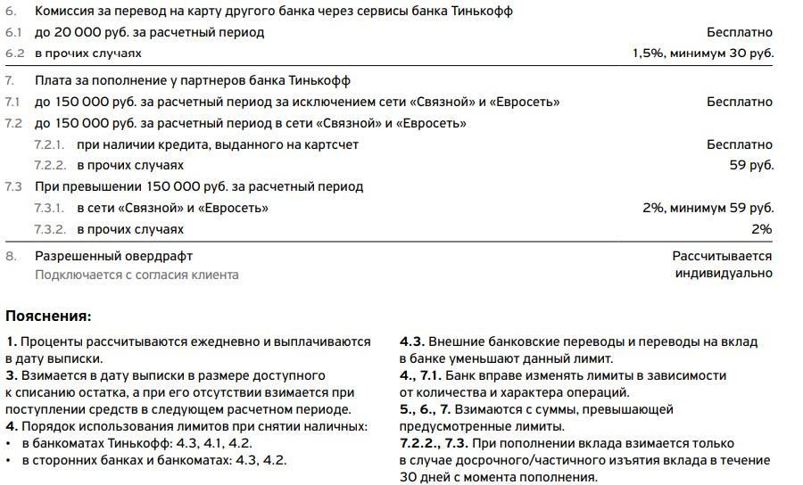 тариф 6.2-1