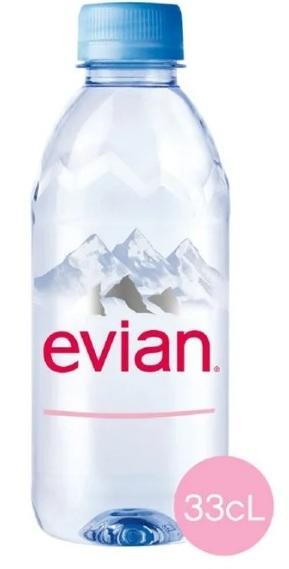 Voda Mineralnaya Evian Negazirovannaya Pet