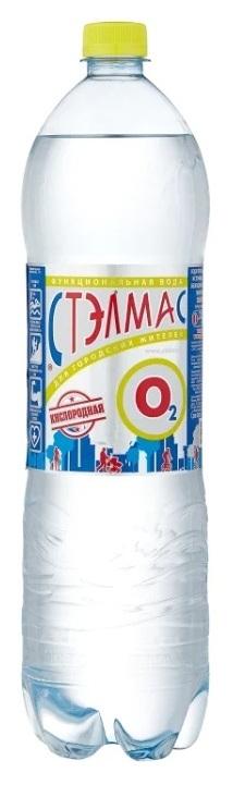 Voda Pitevaya Stelmas O2 Negazirovannaya Pet