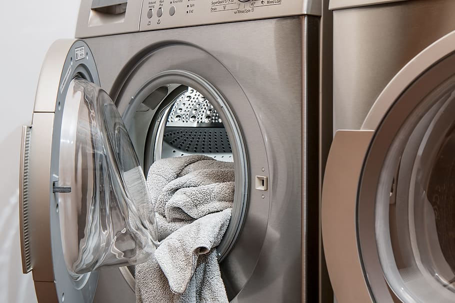 Washing Machine Laundry Tumble Drier Housework