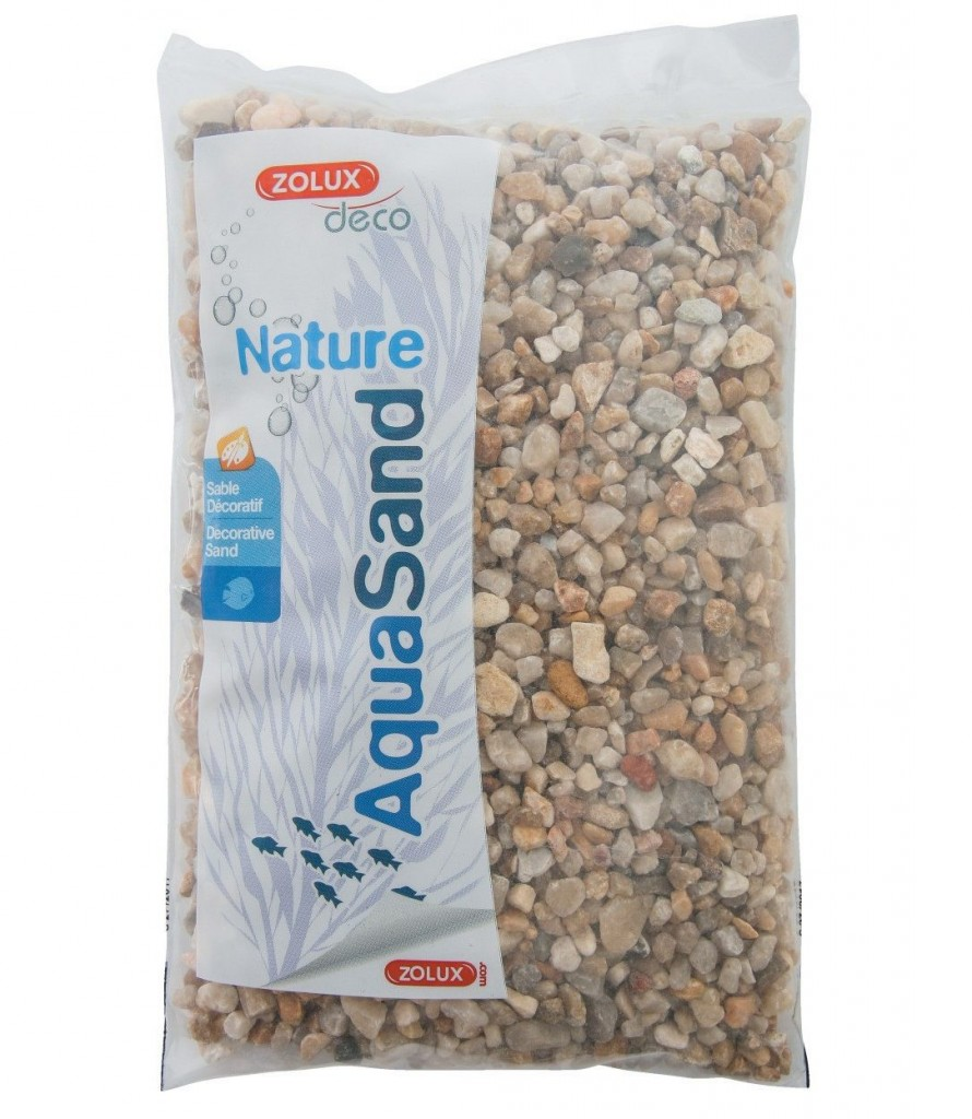 Zolux Aquasand Nature Quartz Gros